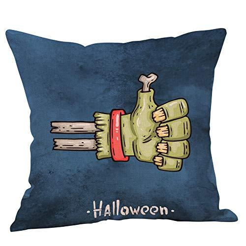 Halloween Decor KIKOY Graffiti print Fall Sofa Throw Cushion Cover Pillows Cover