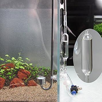 Bazaar Aquarium Co2 Blasenzahler Air Ruckschlagventil Checker