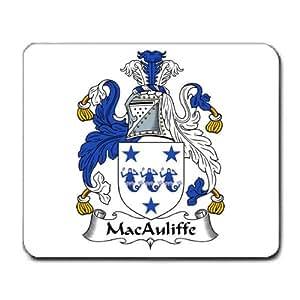 Amazon.com : MacAuliffe Family Crest Coat of Arms Mouse ...