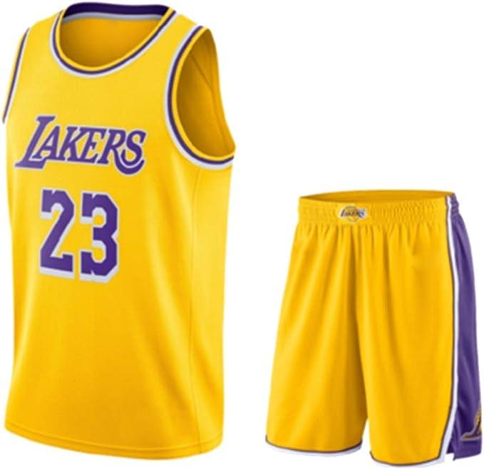 HQSG Ropa De Baloncesto para Hombres-Cleveland Cavaliers 23# Lebron James Camiseta De Baloncesto Bordada Starter Camiseta De Baloncesto para Hombres Regalo De Cumplea/ños Tama/ño: S-XXL