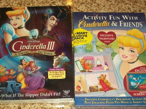Price comparison product image CINDERELLA III A TWIST IN TIME / ACTIVITY FUN WITH CINDERELLA & FRIENDS