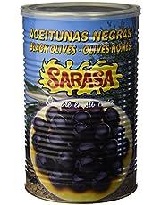 Sarasa - Aceitunas negras, Contenido neto 2.5 kg