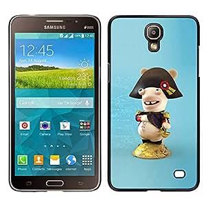 // PHONE CASE GIFT // Duro Estuche protector PC Cáscara Plástico Carcasa Funda Hard Protective Case for Samsung Galaxy Mega 2 / Funny Figure /