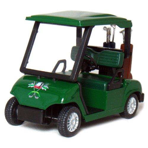 - KinsFun Die-cast Metal Golf Cart Model, 4½