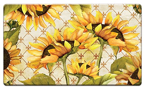 Counter Art 'Sunflowers in Bloom' Anti Fatigue Floor Mat, 30 x 20'' by CounterArt