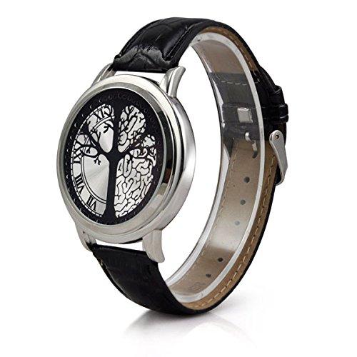 Veroda Men's Stainless Steel Elegant Touch Screen LED Watch