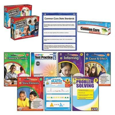 Carson-Dellosa Publishing - Common Core Kit Math/Language Grade 5 ''Product Category: Classroom Teaching & Learning Materials/Reading & Writing Materials'' by Original Equipment Manufacture