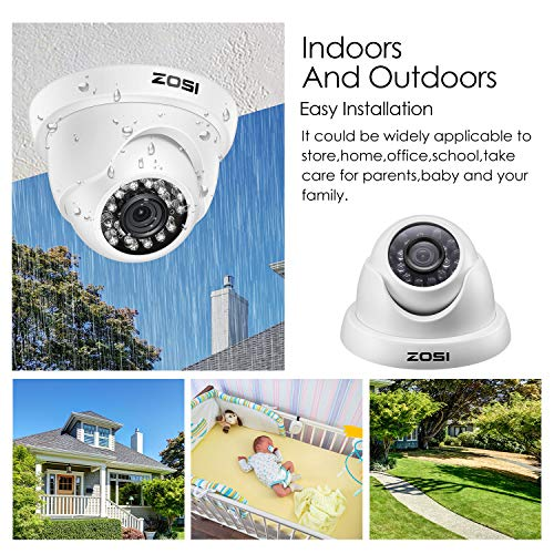 Finders | ZOSI 8-Channel 720P HD-TVI Home Surveillance Camera System