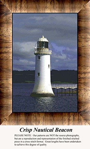 - Crisp Nautical Beacon, Lighthouse Counted Cross Stitch Pattern (Pattern Only, You Provide the Floss and Fabric)