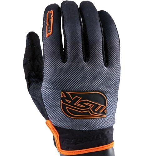 MSR Mens M13 Renegade Motocross Gloves Black/Orange Small (Msr Glove)
