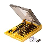 JACKYLED 45 in 1 Precision Screwdriver Tool Kit Compact Repair Maintenance Opening Pry