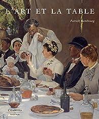 L'art et la table par Patrick Rambourg