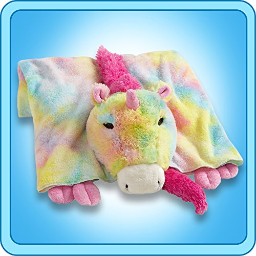 My Pillow Pets Premium Rainbow Unicorn Blanket