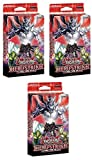 Yu-Gi-Oh 3x Factory Sealed HERO Strike Structure Deck Structure Deck [Sealed Deck]