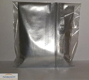 Aluminio polvo Plata caja de 100 ml)