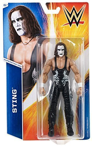 WWE WRESTLING WRESTLING WRESTLING FIGURE STING MATTEL BASIC SERIES 55 #60 ACTION by WWE 23c83d