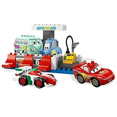 LEGO Cars The Pit Stop 5829: Toys & Games
