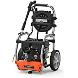 Yard Force 3200 PSI 2.7 GPM Gas Power Pressure Washer with Hose Reel and BONUS Turbo Nozzle!