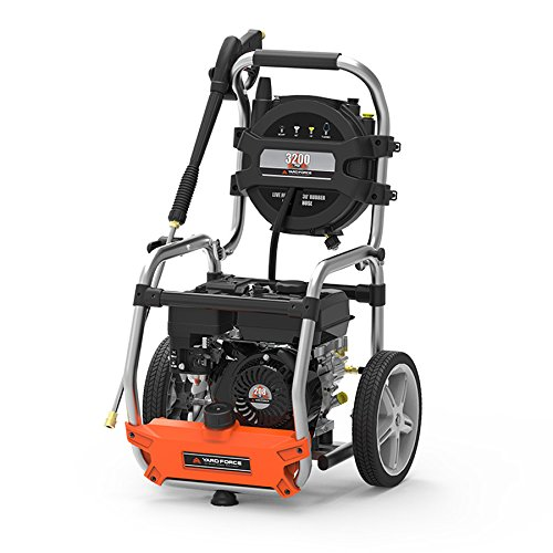 Yard Force 3200 PSI 2.7 GPM Gas Power Pressure Washer with Hose Reel by YardForce