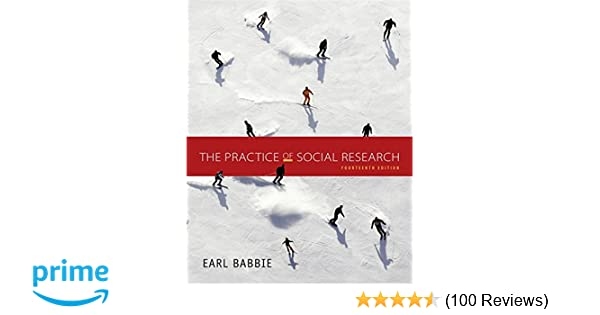 Amazoncom The Practice Of Social Research Standalone Book