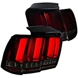 Spec-D Tuning LT-MST99RGLED-SQ-TM Smoke Tail Light (Ford Mustang Sequential Led)