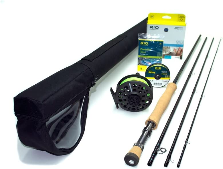 """Redington Path Fly Fishing Outfit 9'0"""" 8wt 4pc Combo"""