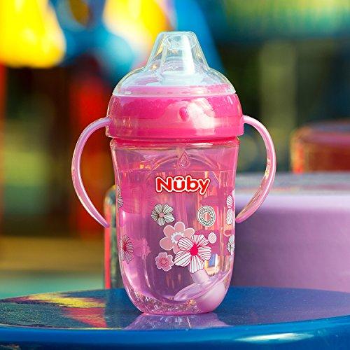 Girl 9 Ounce Nuby 360 2 Handle Comfort Cup