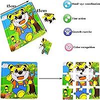 Juguetes Niños 3 Años Liuer 4PCS Puzzles Infantiles Juguete ...