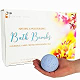 Bath Bomb for Shower Popular Bath & Body Works Scents from My Comfort Living Bath Bombs Gift Set, 6 Large 4.2oz Aromatherapy, Essential Oils - USA Handmade (best lush fizzies for her teen girl mothers day bubble balls)