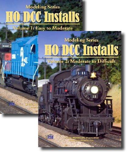 HO Scale Model Railroad DCC Installation, 2 DVD Set [DVD] [2009]