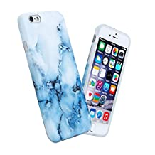Blue Marble iPhone 6 6s Case For Girls,Soft Flexible Shock Proof TPU Cover Case For Both iPhone 6 And iPhone 6s