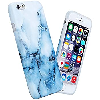 iphone 6 marble case blue