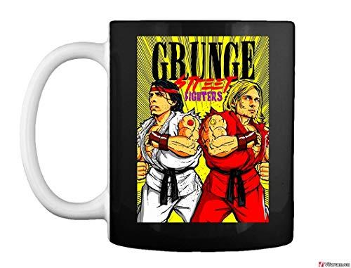 Grunge Street Fighter shirt Video Martial Arts Arcade Game Player Select Adult Mug Coffee Mug Gift Coffee Mug 11OZ Coffee Mug
