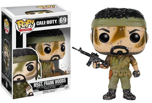 POP! Vinilo - Games Call of Duty MSgt Frank Woods