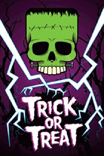 Pyramid America Trick or Treat Halloween Decoration Glow in The Dark Poster 36x24 inch