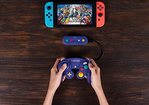 51z2W%2BrXonL - 8Bitdo Gbros. Wireless Adapter for Nintendo Switch (Works with Wired GameCube & Classic Edition Controllers) - Nintendo Switch