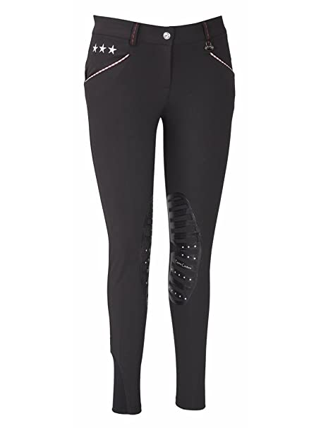 Sports & Fitness Clothing Equine Couture Womens Stars and Stripes Knee Patch Breech