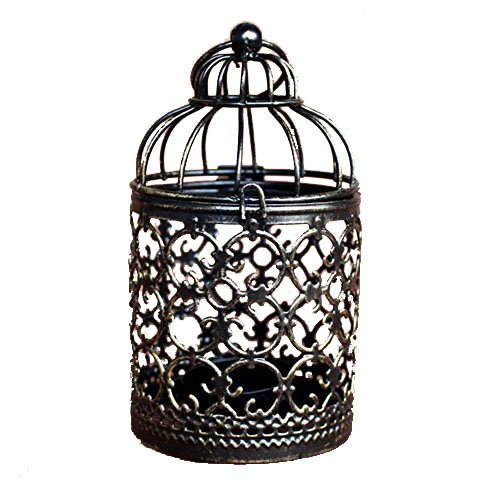 Aikesi Vela romántica en forma de jaula en forma de vela de la ...
