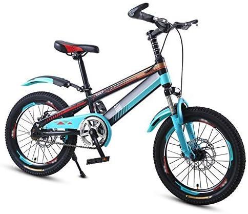YSA キッズバイク高炭素鋼子供用自転車トレーニングホイール付き18/20インチ男の子と女の子サイクリング、5〜11歳の子供向け