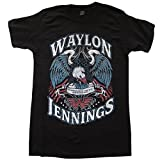 Waylon Jennings Lonesome On'ry and Mean Adult t-shirt Officially Licensed Size 3XL