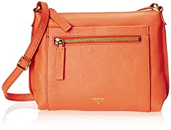 Fossil Vickery Cross Body Bag, Monarch, One Size