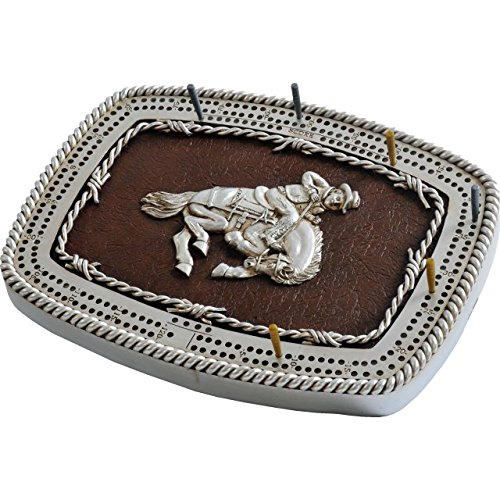 Cribbage Board - Bronco Buckle by GSI Outdoors