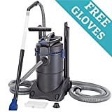 Professional 1800 Watt Premium Pond & Muck Vacuum Cleaner w/Free Pond Cleaning Gloves