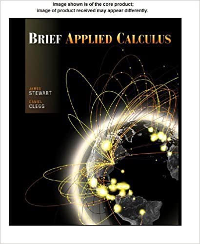 Book Student Solutions Manual for Stewart/Clegg's Brief Applied Calculus by James Stewart (2012-03-13)