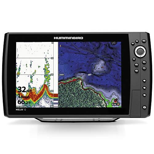 Humminbird 410380-1 Helix 12 Chirp Mega Si GPS G2N Fishing Charts & Maps (Humminbird Helix 10 Mega Si G2n Gps)