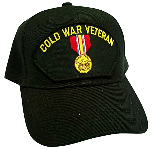 HMC Cold War Veteran w/Medal Low Profile Adjustable Ball Cap ()