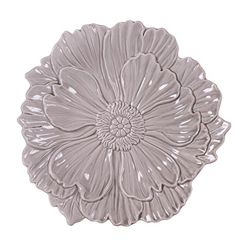 Savannah Collection, Canape Plate - Gray