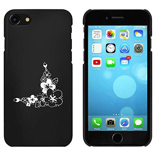 Noir 'Coin Floral' étui / housse pour iPhone 7 (MC00067065)