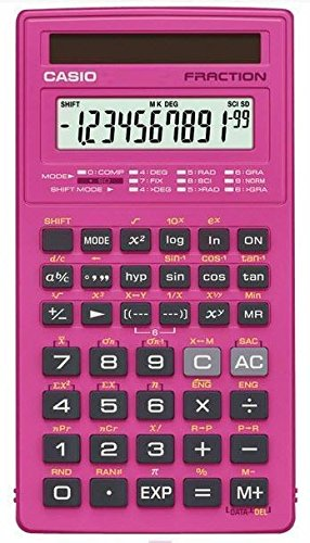 CASIO FX-260SLR-PK Scientific Calculator (FX-260SLR-PK) from Casio