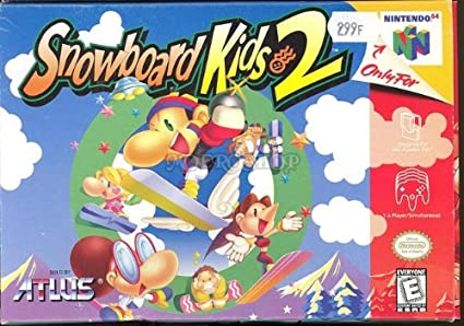 Snowboard Kids 2 Us Import Amazonde Games